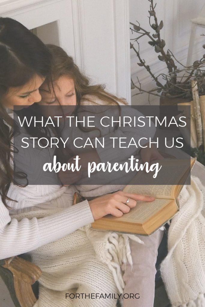 Do you read the Christmas story as a family? There is always so much new to understand each time these pages of the gospels are read- but have you ever considered how much they might influence your parenting? We're sharing beautiful truths today that give us hope and instruction for this season of life.