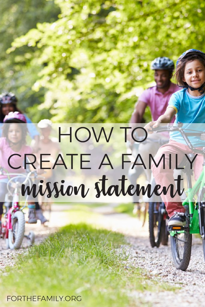 What is your family all about?  Defining your core values, vision and purpose together can bring you closer and help you know what to say yes and no to as opportunities pop up this year. Join us today and learn how to craft your own mission statement for your family!