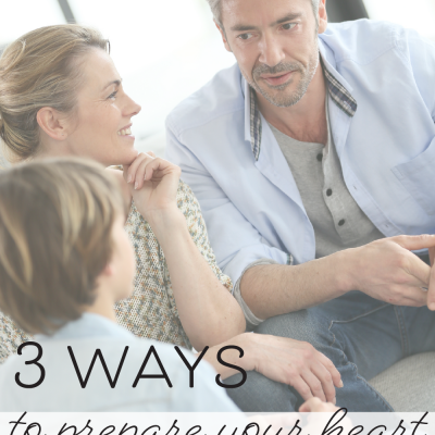 Three Ways to Prepare Your Heart for a Crisis