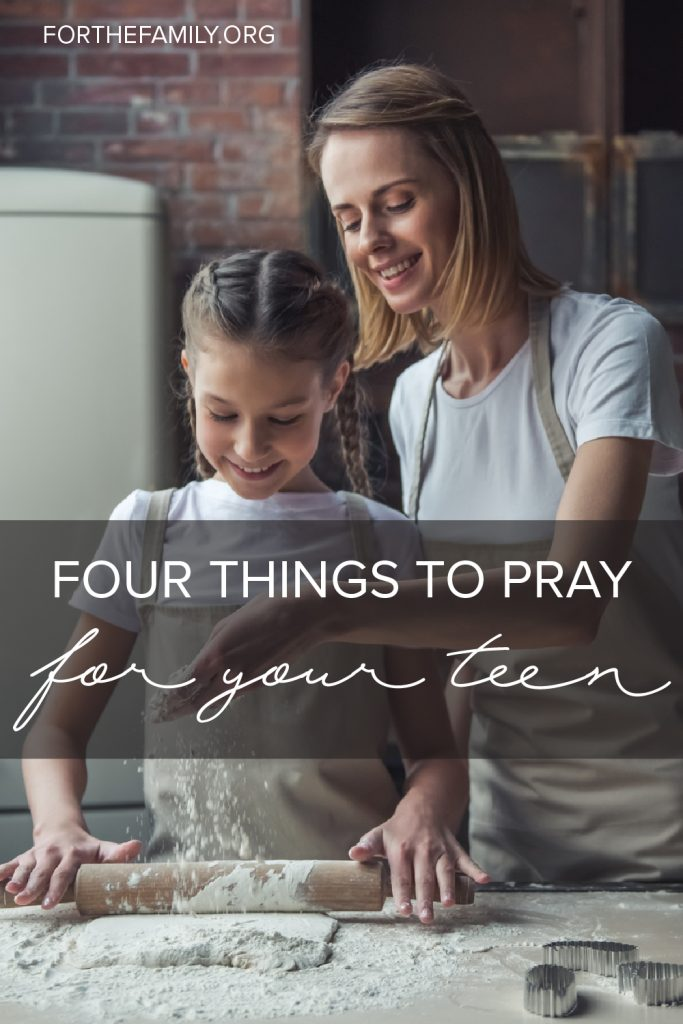 Are you parenting in the teen years? It can be overwhelming, hard even, to navigate this new season with our children, and we know we can't do it alone. Discover how we need the Lord to move in the hearts of our teens, and how we need him more ourselves too.