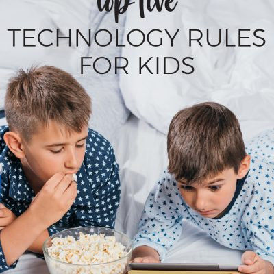 Top Five Technology Rules for Kids