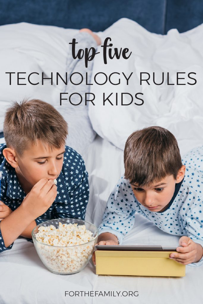 How does your family handle technology? While we are all likely to have our own approach to screen time, there are some basic rules that we should all keep in mind. Here's a great list of guidelines and tools to ponder for your family as we shine Christ in this modern sphere.