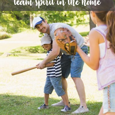 Three Ways to Encourage Team Spirit in the Home