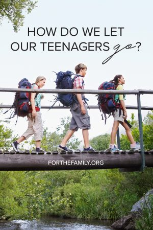 How do we launch our children into adulthood? How do we let go when for their whole lives we've been holding them so close and so tight? Learn with us today about how God is doing something new and providing for us still in new seasons.