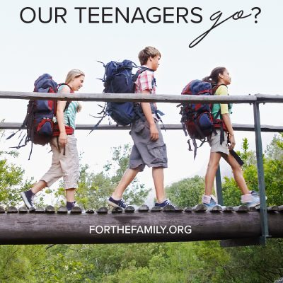 How Do We Let Our Teenagers Go?