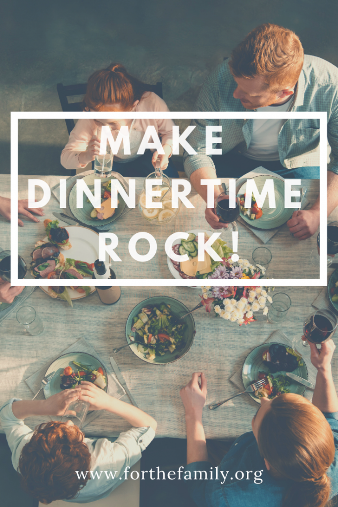 Has dinner time become a forgotten time for your family? You might need to undertake a dinnertime makeover! Use these tips to reclaim one of the most important rhythms of your family tonight!