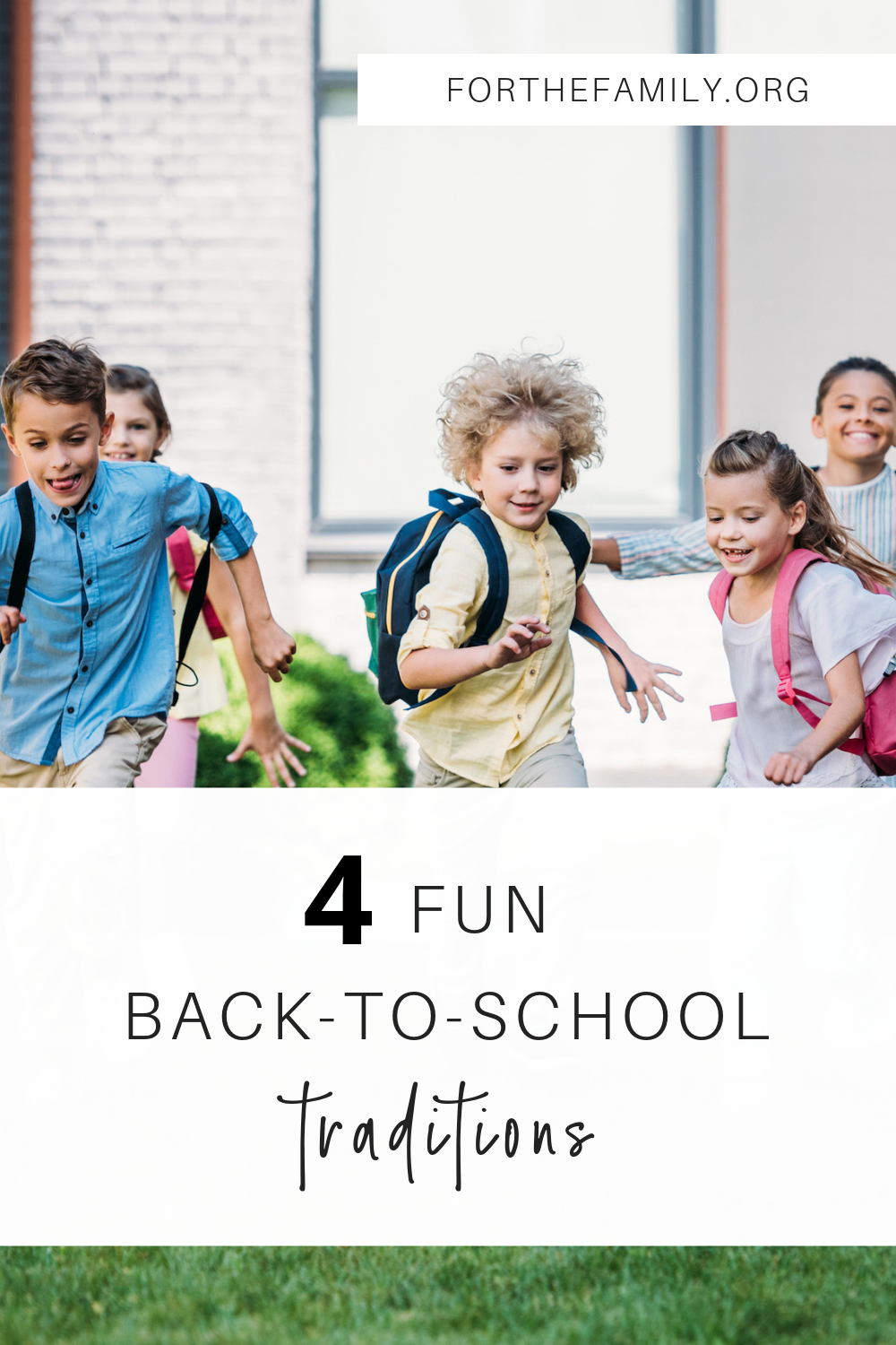 Back to school preparation can be so full of errands and to- do lists! This year, flip the script and make it a season of high connection and fun traditions as your kids get ready for the school year!