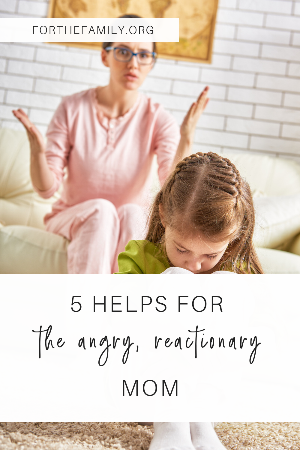 Does the behavior of your kids bring out the worst in you? How do you manage your emotions when your child can't manage theirs? Today we have hope and practical wisdom for reactionary parents. Help is right here!