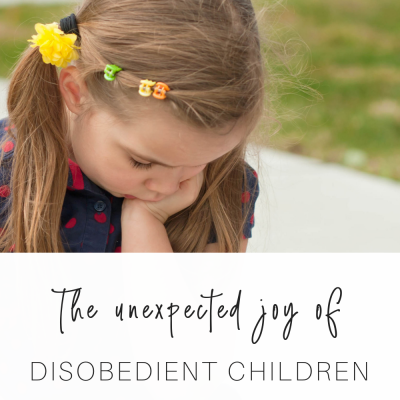 The Unexpected Joy of Disobedient Children