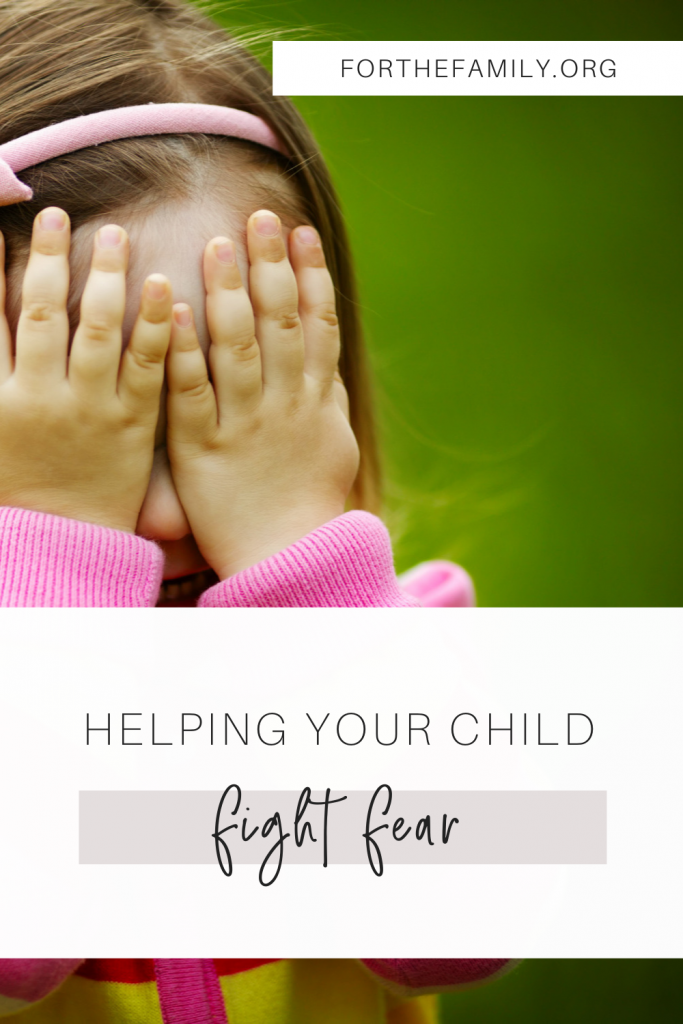 Is your child afraid? How can you help them fight anxiety and fear and trust God fully for all their needs? We're walking you through the process of how you can guide them to His heart today.