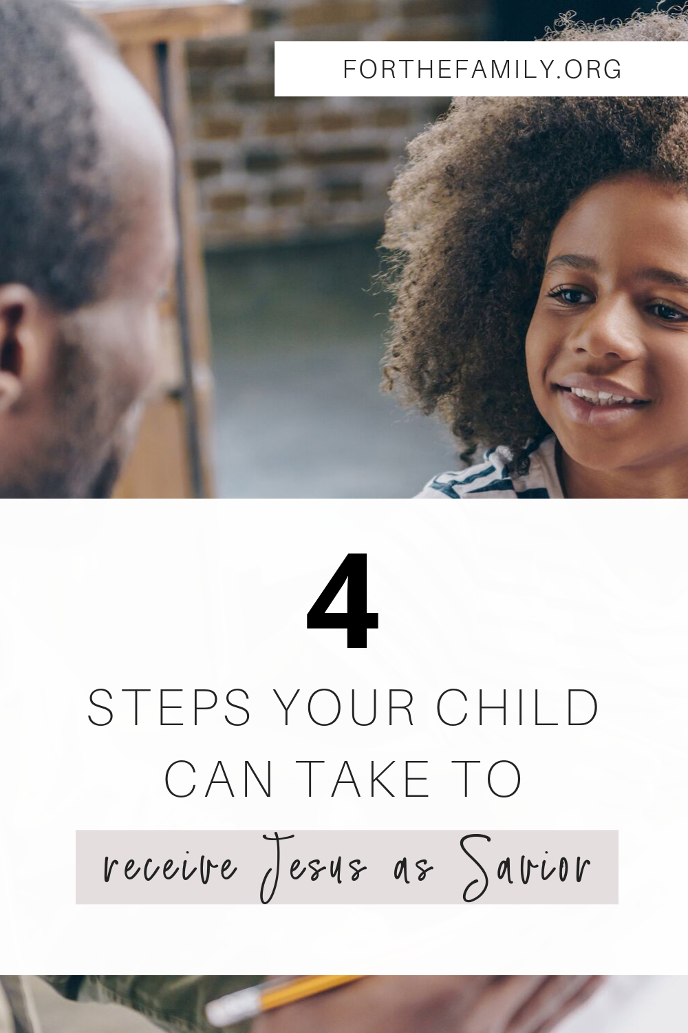 Have you ever talked to your children about what it means to invite Jesus into their life as their Savior? There is no greater joy for us as parents, and yet, we can be unsure about how to begin these conversations! Today, we're walking you through how, step by step.