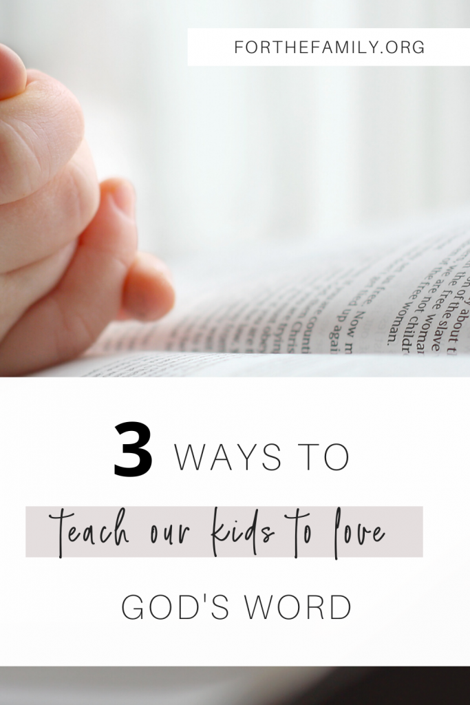 Do you struggle to get your children interested in reading their Bibles? We know you want them to hear from God and know his heart for them and for our world. Join us as we share our top three ideas for cultivating a deep love for his Word.