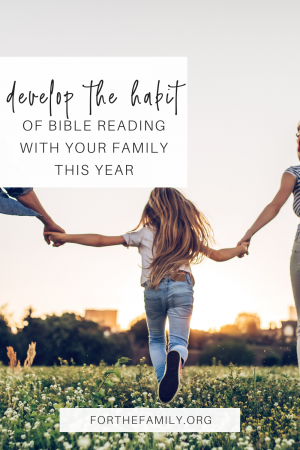Is it hard for your family to find time to spend in God's Word? Just as we need our daily bread to sustain our physical bodies, we need nourishment from Christ to sustain us spiritually. This year we want to help you make God's word part of the rhythm of your daily life as a family with this simple idea!