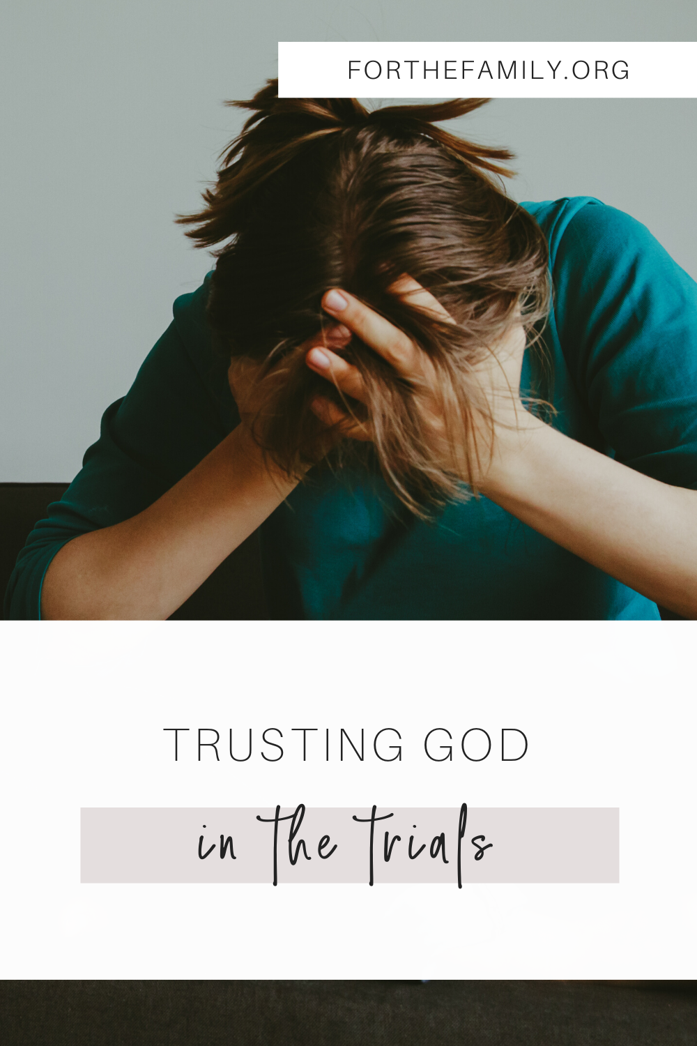 Life can be really hard. How do we get through the seemingly impossible circumstances we face? Join us as we talk about how we can trust God in the trials.