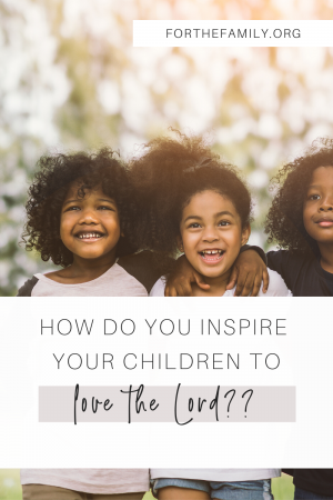 What is the secret to raising children who actually grow up to love the Lord? Maybe you've wondered that yourself...