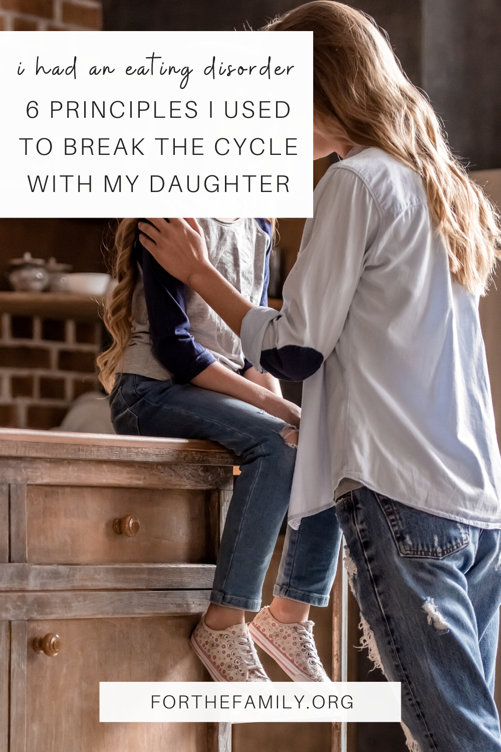 When I gave birth to a daughter, I felt ill-equipped to raise her. At twenty-three, I was still a girl myself, struggling with my own issues – an eating disorder, insecurities, and identity issues. If I struggled with my own body issues, how was I going to raise a girl with a healthy self-image?