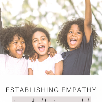 Establishing Empathy In A Bullying World