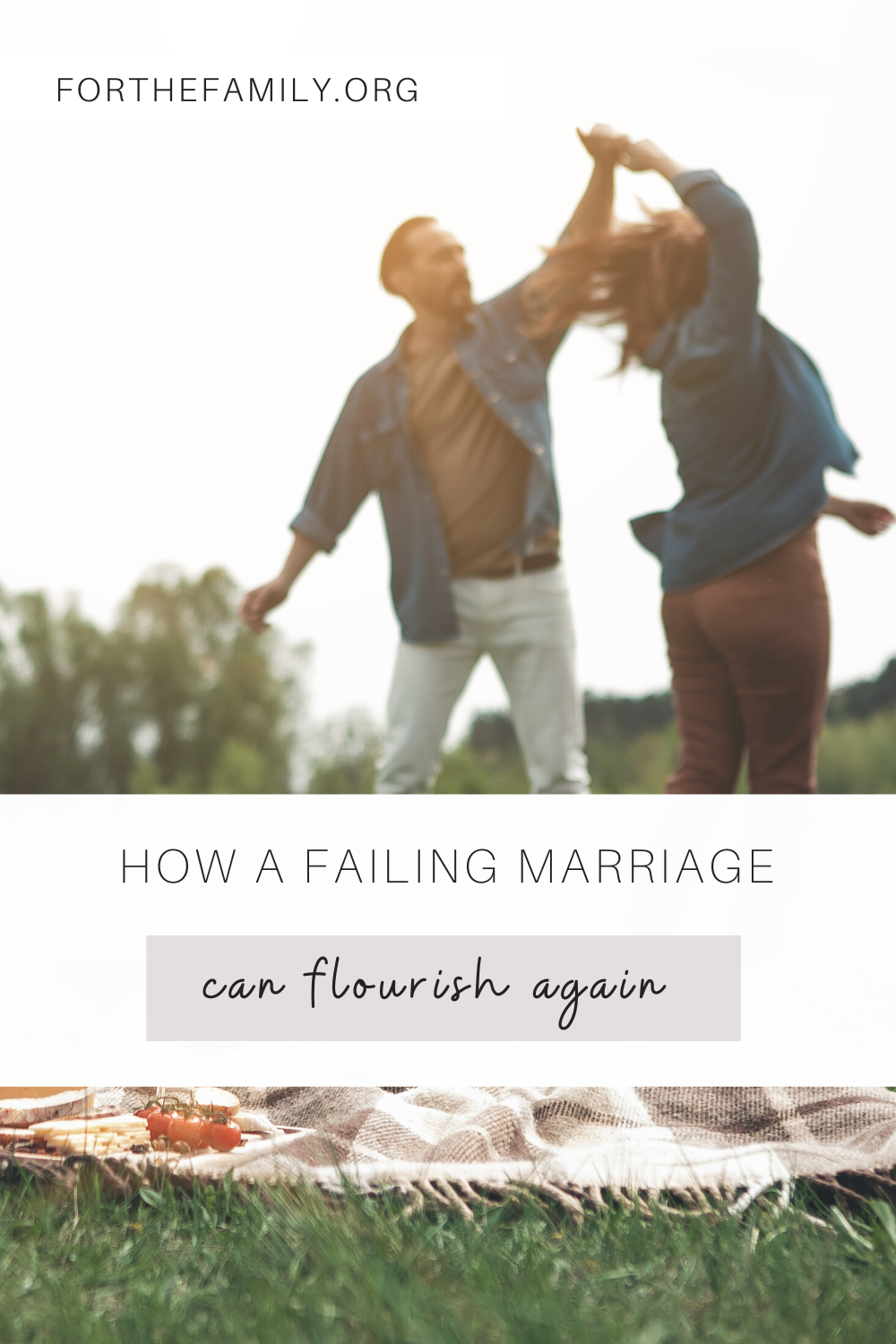 Every new stage of life brings along new challenges for our marriages. These challenges often expose our shortcomings, but God has the power to press the reset button. A marriage can flourish rather than fail when you have a hope-filled faith in God!