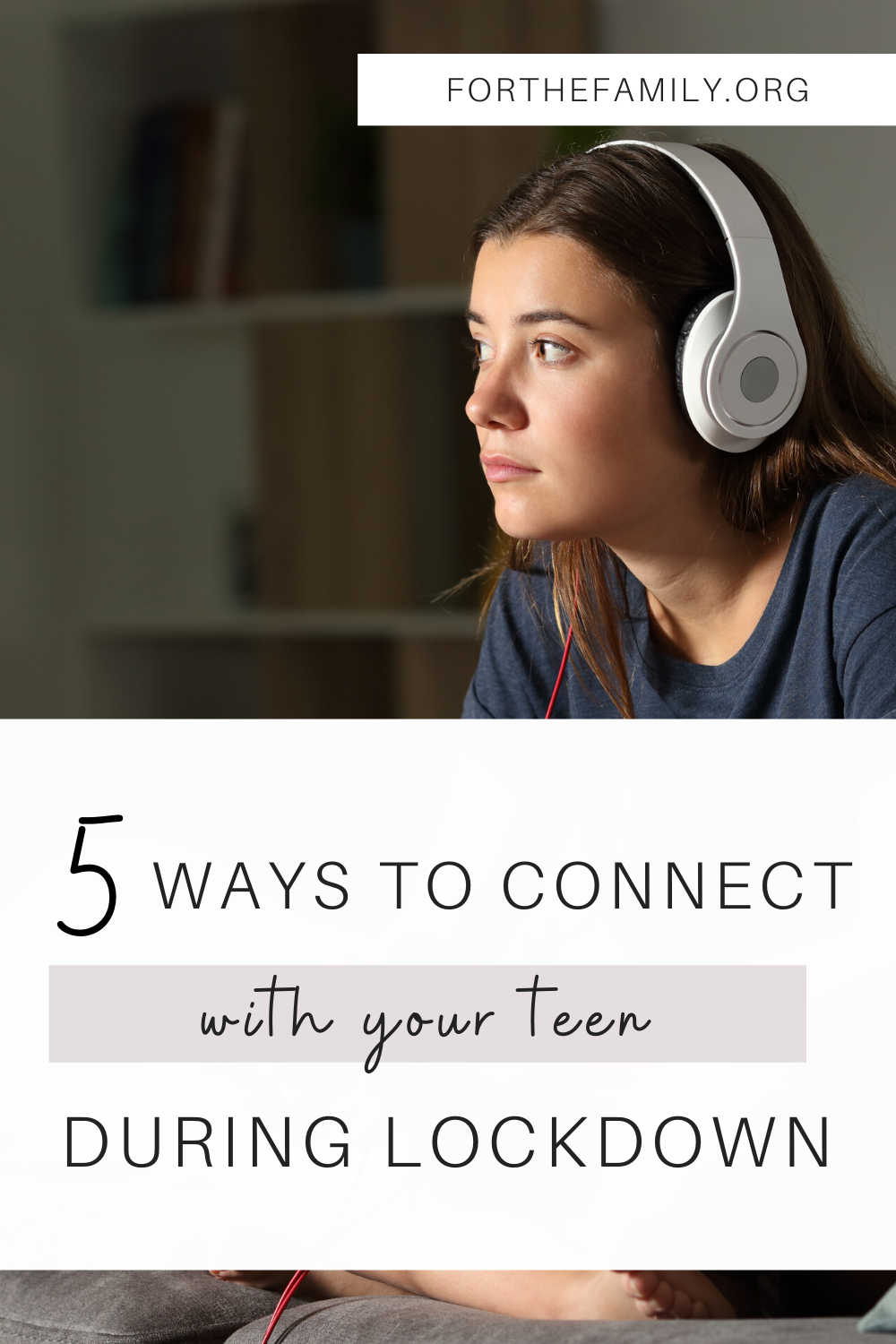 With schools closed and plans canceled, it's important we nourish our relationships with our teens. This unusual season has opened the door for us to connect and create precious memories as a family! Here are a few ideas to do just that...