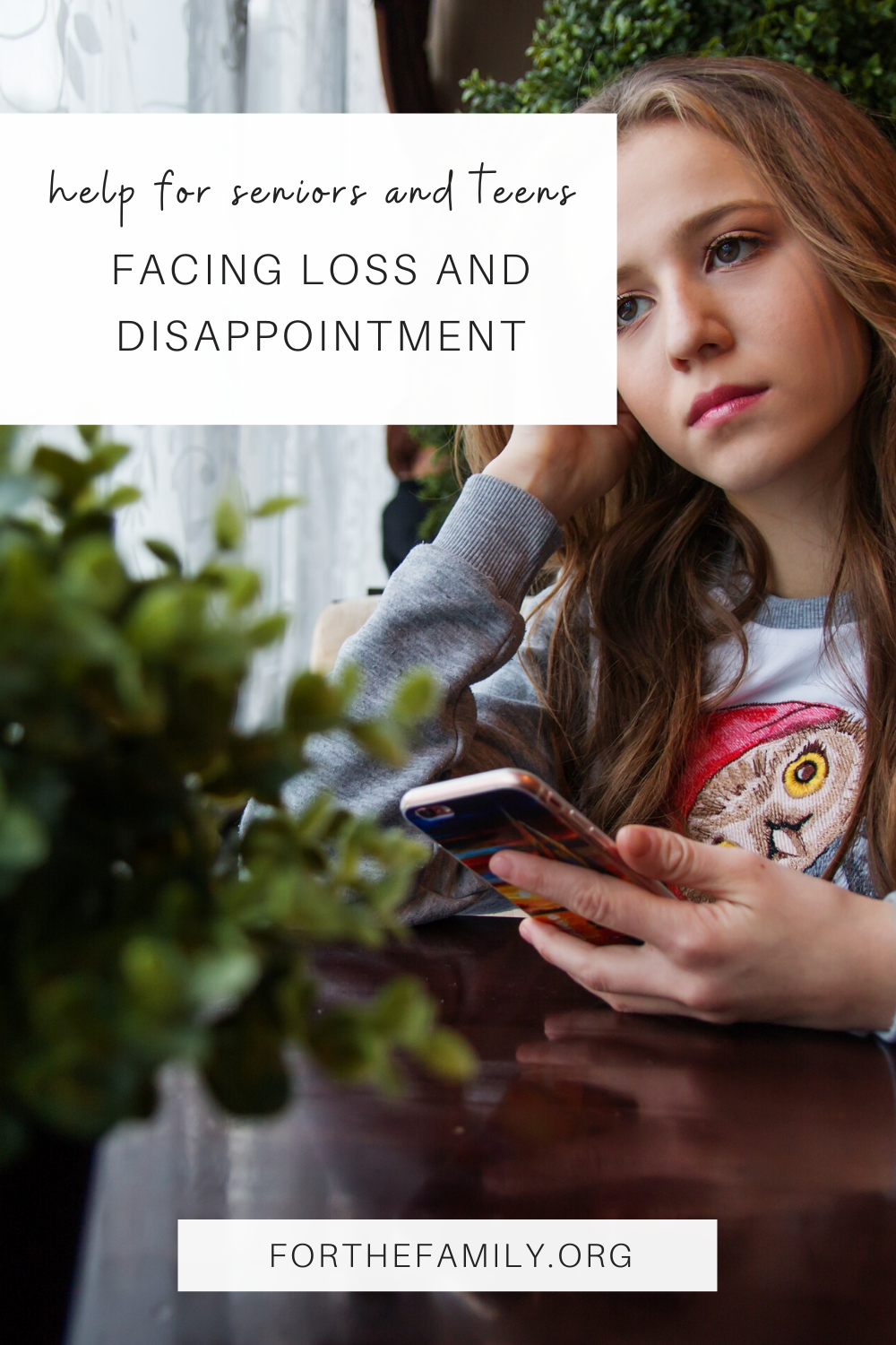 It's been hard for many of us during this shelter in place, including our teens and seniors. As a parent, it may be hard to know how to help, but there are ways you can guide your teens through this unprecedented time!