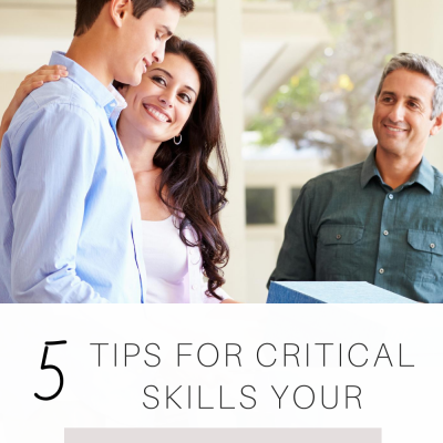 5 Tips for Critical Skills Your Child Needs
