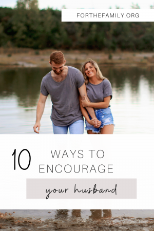 It's easy to forget that our husbands need encouragement and affirmation, but building them up is essential to strengthening our marriages. There are simple ways we can do this and it's so important we make it a daily habit!