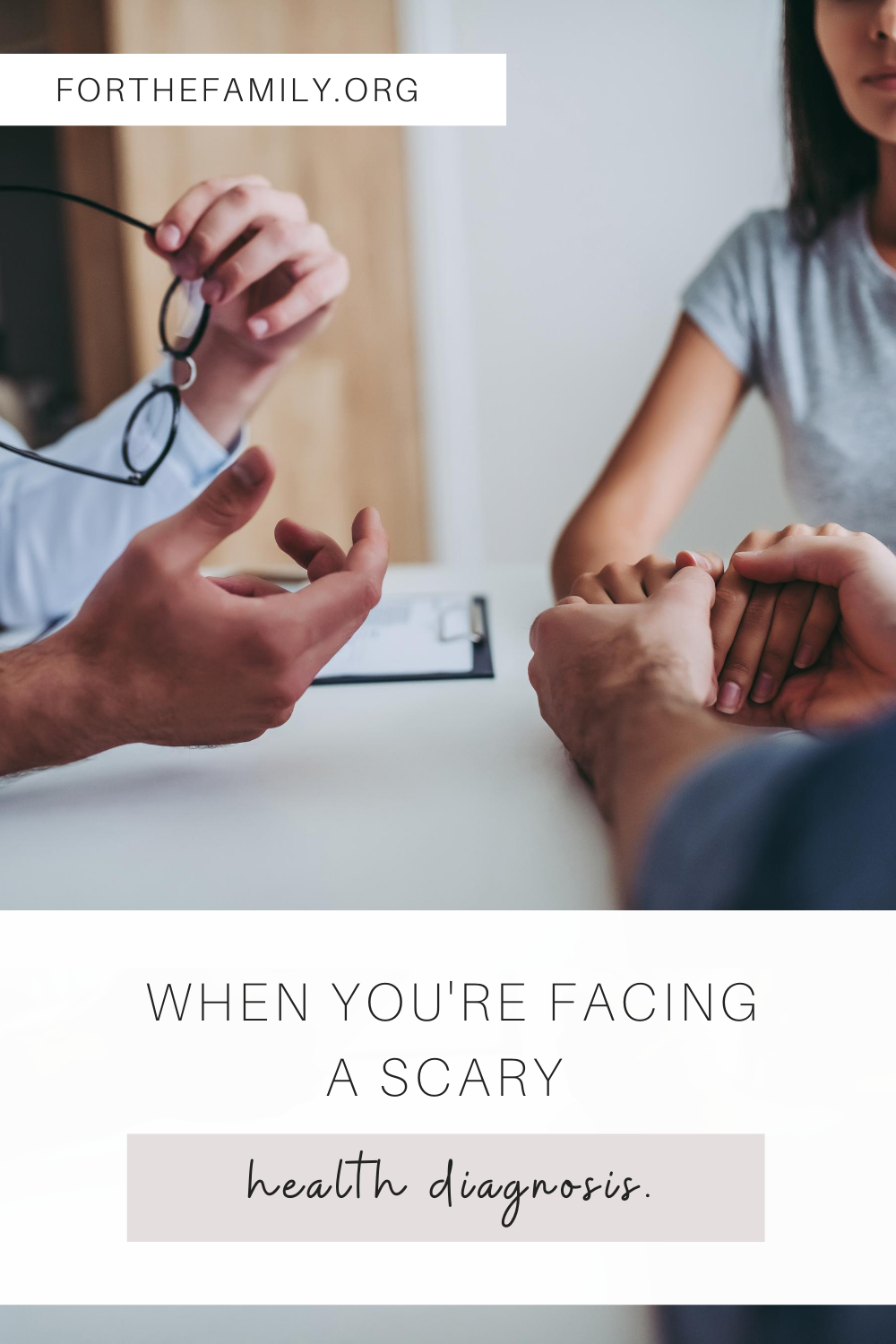 When you receive news that is out of your control, like a bad health diagnosis, it can be so terrifying. We know it's easy to run to the worst-case scenario, but we are meant to run to Jesus!