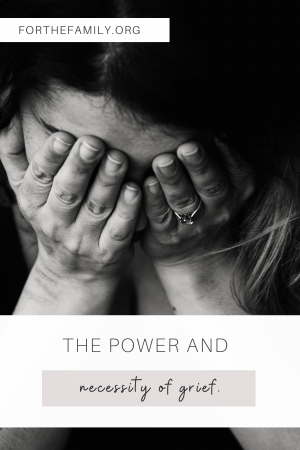 """""""The Power and Necessity of Grief"""" For the Family"""