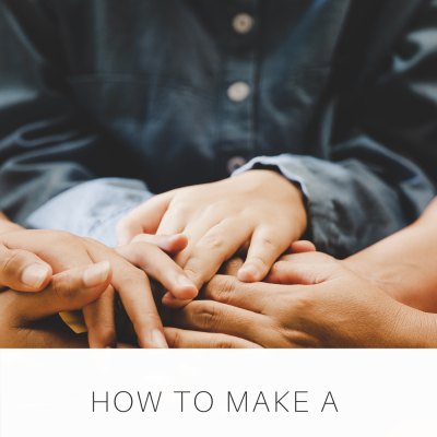 How to Make a Prayer PLAN