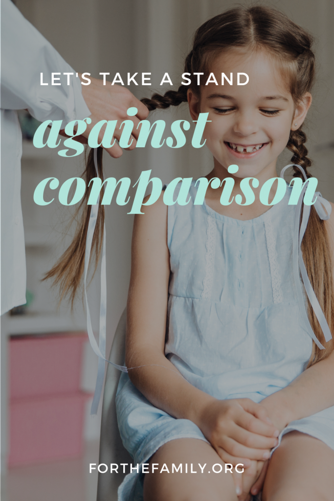 Let's take a stand against comparison.